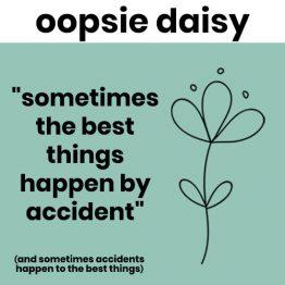 oopsie daisy range