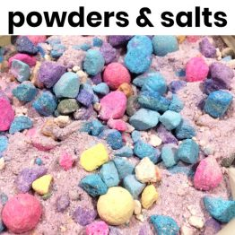 powders & salts